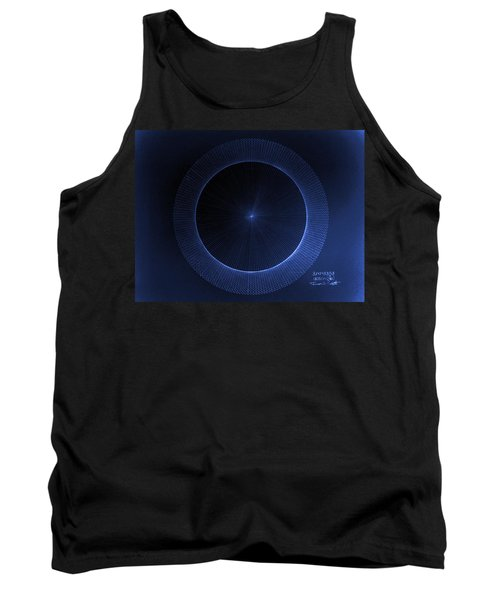 Circles Don't Exist Pi 180 Tank Top