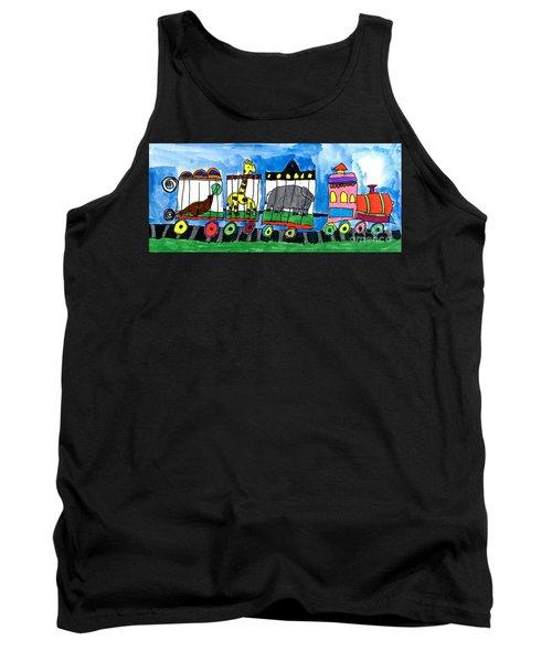 Circus Train Tank Top