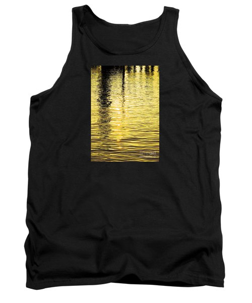 Tank Top featuring the photograph Citrine Ripples by Chris Anderson