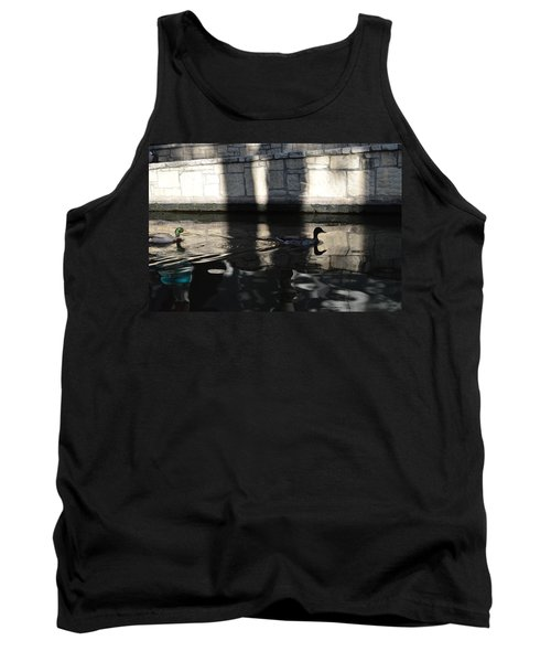 Tank Top featuring the photograph City Ducks by Shawn Marlow