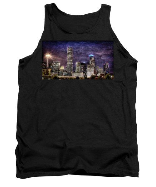 City Of Houston Skyline Tank Top