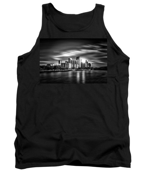 City Of Reflection In Monochrome Hdr Tank Top by Michael White