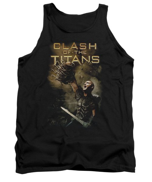 Clash Of The Titans - Medusa Head Tank Top