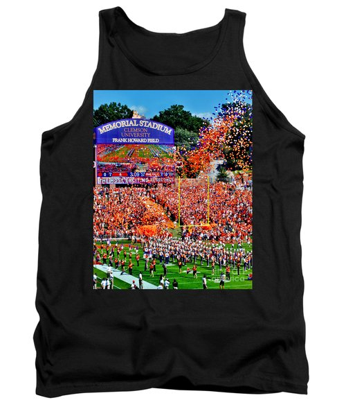Clemson Tigers Memorial Stadium Tank Top