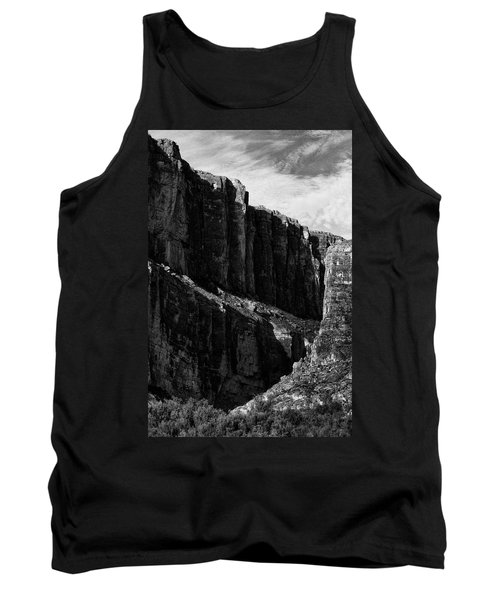 Cliffs In Contrast Tank Top