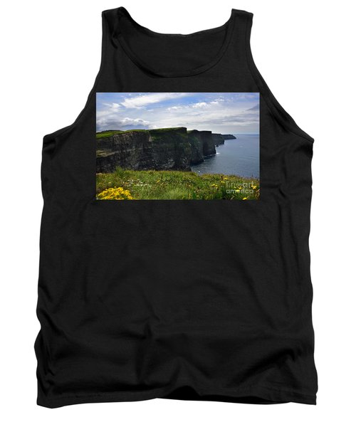Cliffs Of Moher Looking South Tank Top by RicardMN Photography