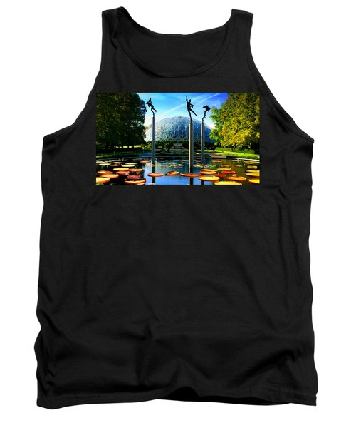 Climatron Geodesic Dome Landscape Tank Top