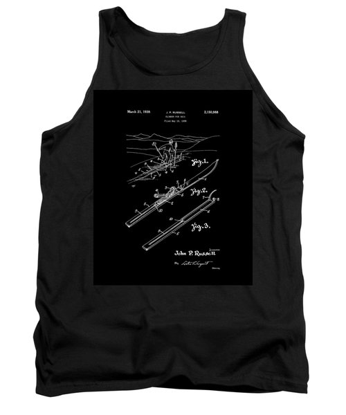 Climber For Skis 1939 Russell Patent Art Tank Top