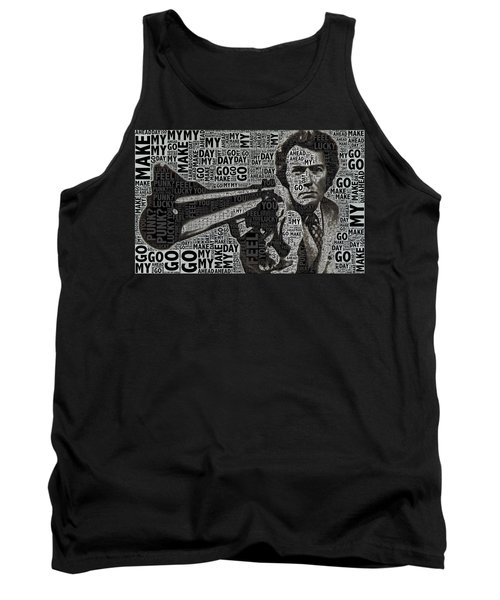 Clint Eastwood Dirty Harry Tank Top