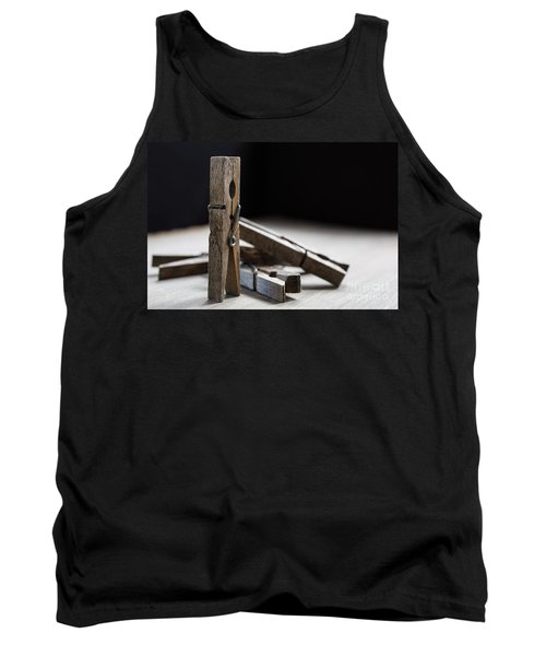 Clothespins Tank Top