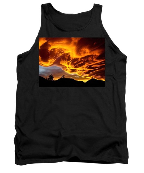 Tank Top featuring the photograph Clouds 2 by Pamela Cooper