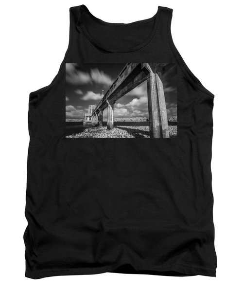 Clouds Above The Bridge Tank Top