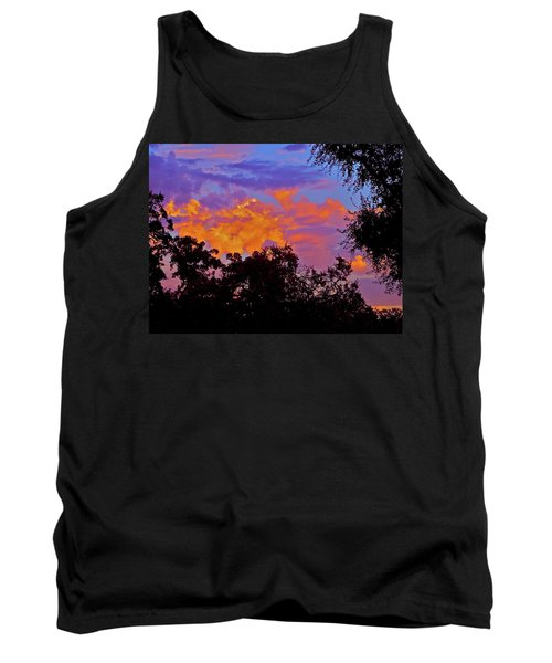 Tank Top featuring the photograph Clouds by Pamela Cooper