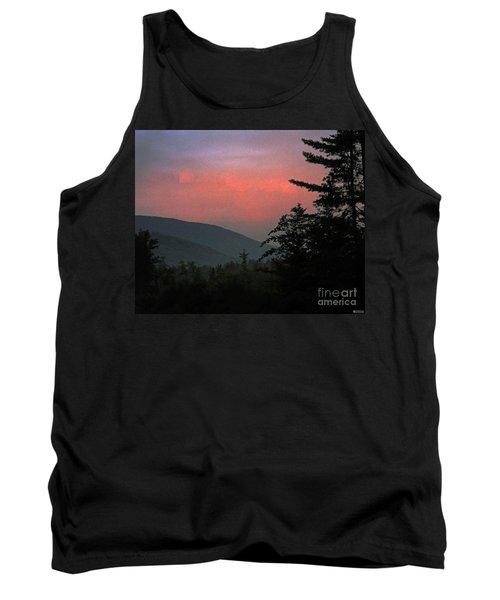 Clucks West Ossipee Mountain Sundown Tank Top