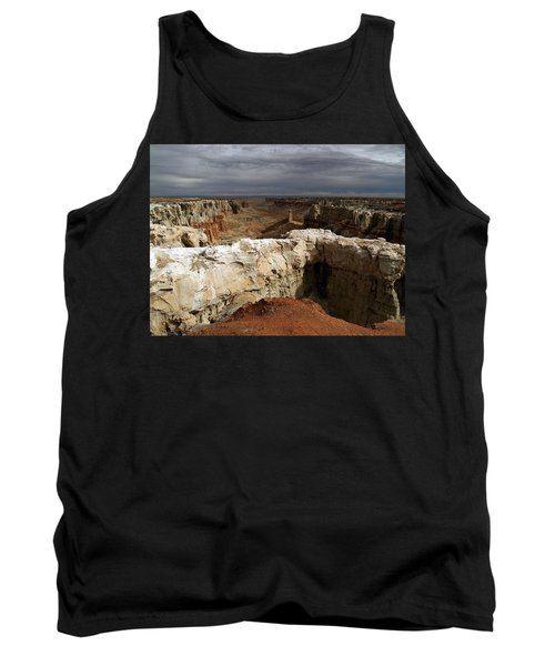 Tank Top featuring the photograph Coal Mine Mesa 08 by Jeff Brunton