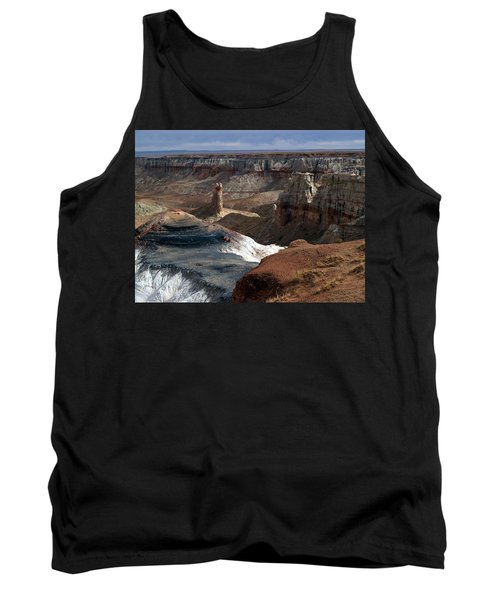 Tank Top featuring the photograph Coal Mine Mesa 09 by Jeff Brunton