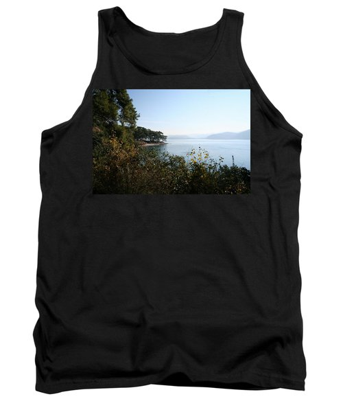 Tank Top featuring the photograph Coast by Tracey Harrington-Simpson