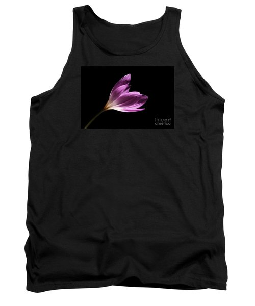 Tank Top featuring the photograph Colchicum  by Judy Whitton