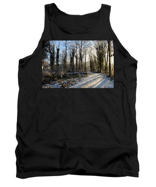 Tank Top featuring the photograph Cold Morning by Felicia Tica