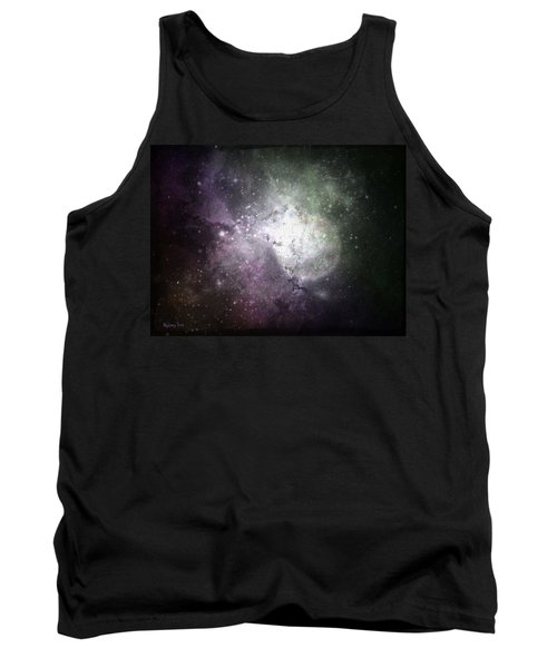 Collision Tank Top by Cynthia Lassiter