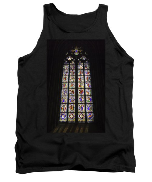 Cologne Cathedral Stained Glass Life Of Christ Tank Top