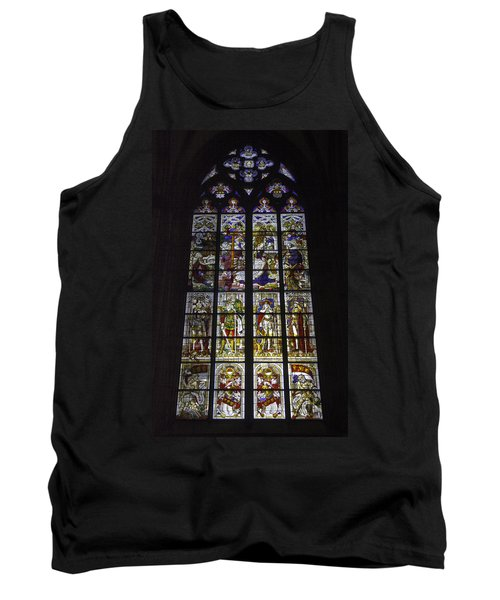 Cologne Cathedral Stained Glass Window Of The Nativity Tank Top
