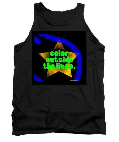 Color Outside The Lines Tank Top