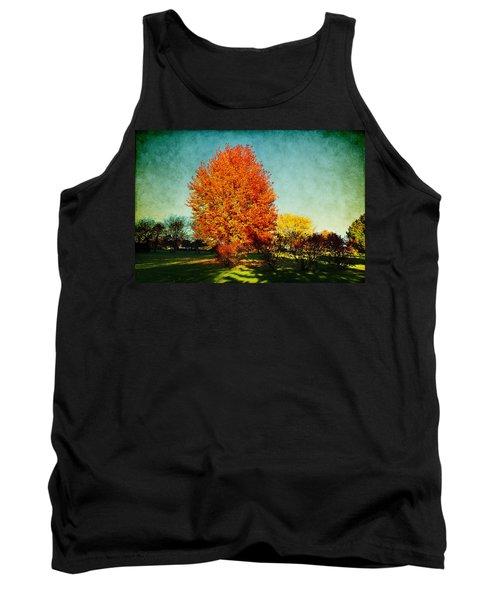 Colorful Autumn Tank Top