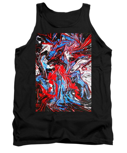 Colorful Chaos Tank Top