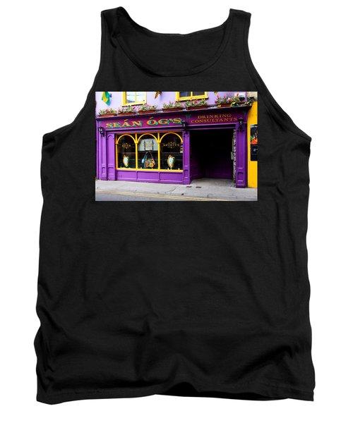Colorful Irish Pub Tank Top