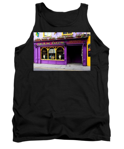 Colorful Irish Pub Tank Top