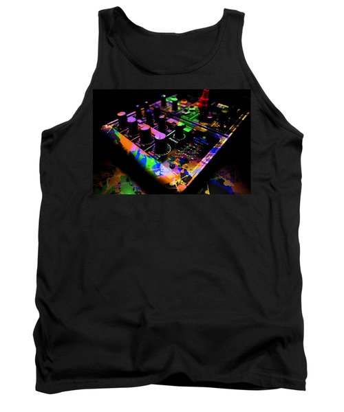 Mixing Colors Tank Top by Aaron Berg
