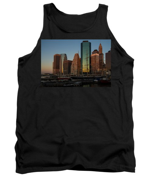 Tank Top featuring the photograph Colorful New York  by Georgia Mizuleva
