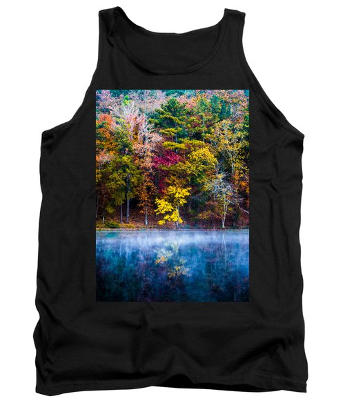 Colors In Early Morning Fog Tank Top by Parker Cunningham