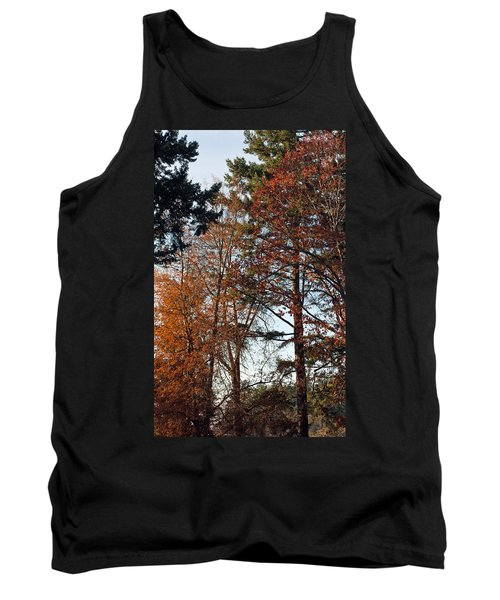 Tank Top featuring the photograph Colors Of Autumn by Tikvah's Hope
