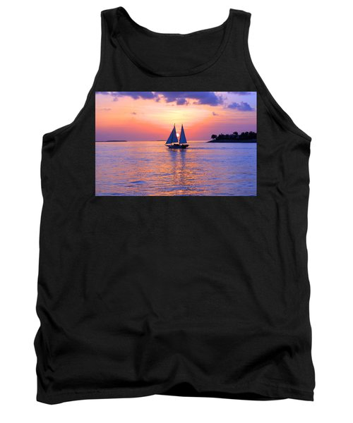 Colors Of Sunset Tank Top by Iryna Goodall