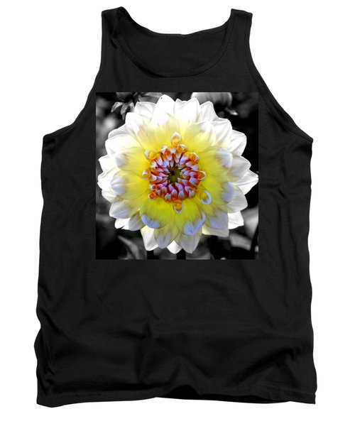 Colorwheel Tank Top by Karen Wiles