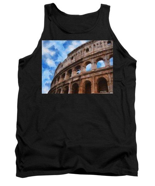 Colosseo Tank Top by Jeff Kolker
