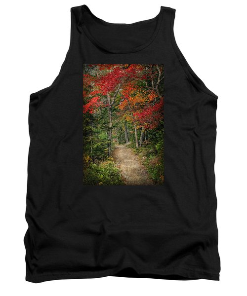 Tank Top featuring the photograph Come Walk With Me by Priscilla Burgers