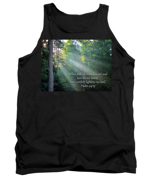 Tank Top featuring the photograph Comfort by Greg Simmons