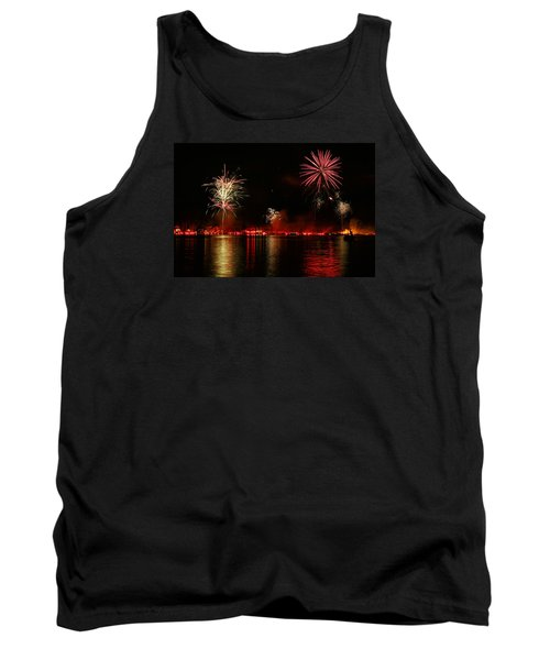 Conesus Ring Of Fire Tank Top