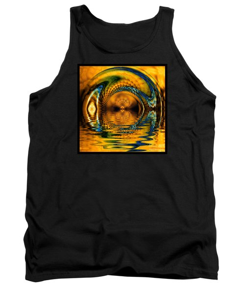 Confusion Of Distortion  Tank Top by Elizabeth McTaggart