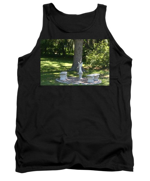 Contemplation Tank Top by David S Reynolds