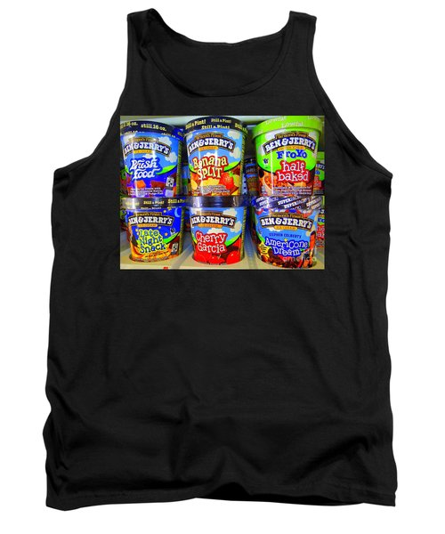Cool Cremes Tank Top by Ed Weidman