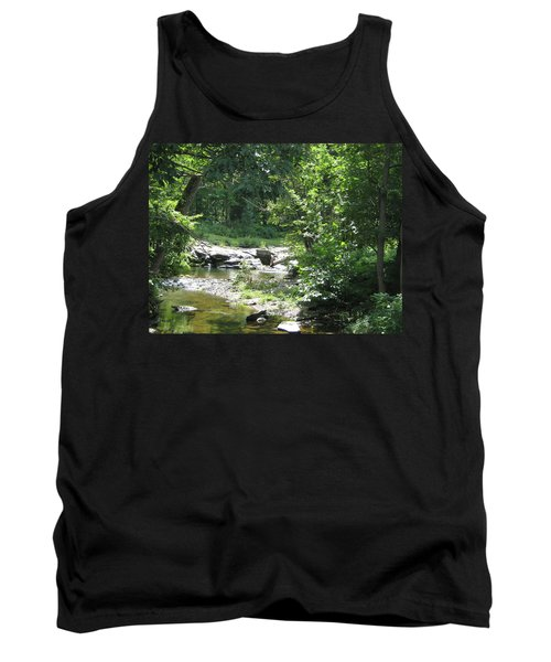Tank Top featuring the photograph Cool Waters II by Ellen Levinson