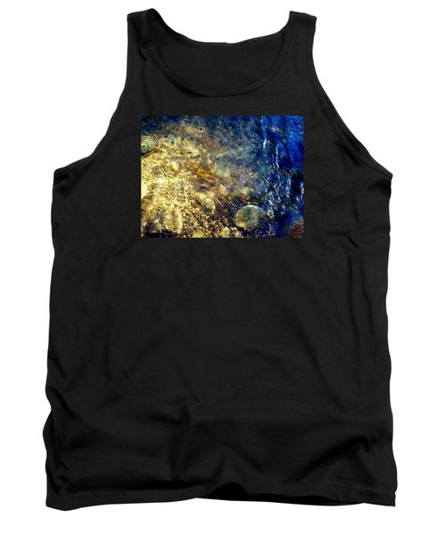 Cool Waters...of The Rifle River Tank Top by Daniel Thompson
