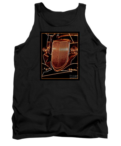 Tank Top featuring the photograph Copper Works by Bobbee Rickard