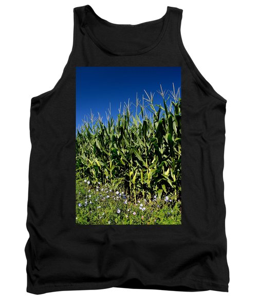 Corn And Wildflowers Tank Top