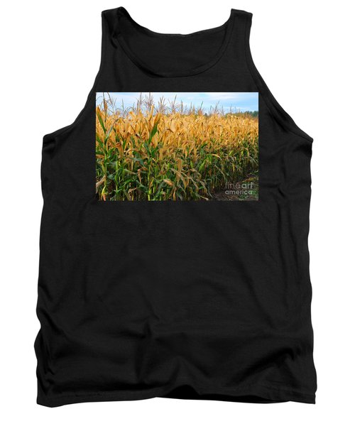 Corn Harvest Tank Top by Terri Gostola