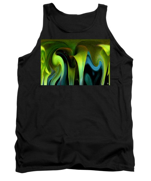 Cornflower Abstract No1 Tank Top